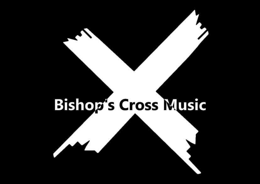 Bishop's Cross Music Logo Dark