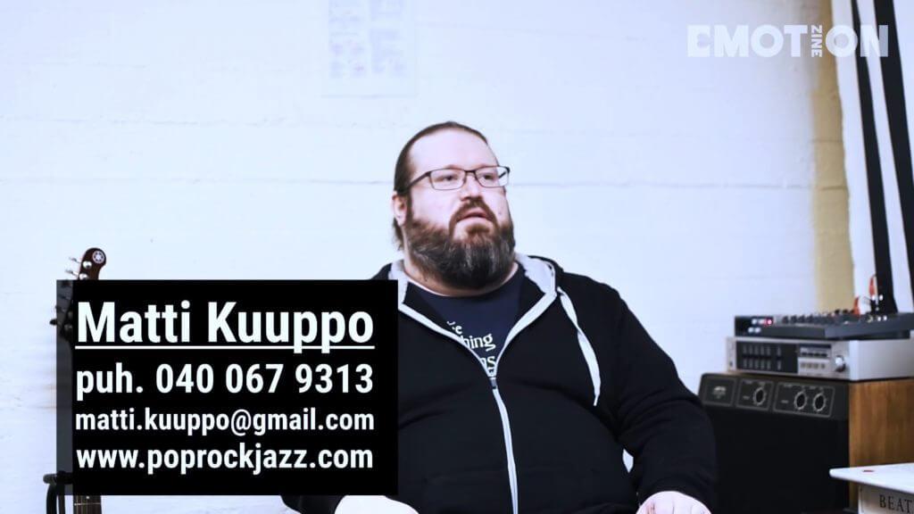 Kitaraopettaja Matti Kuupon yhteystiedot